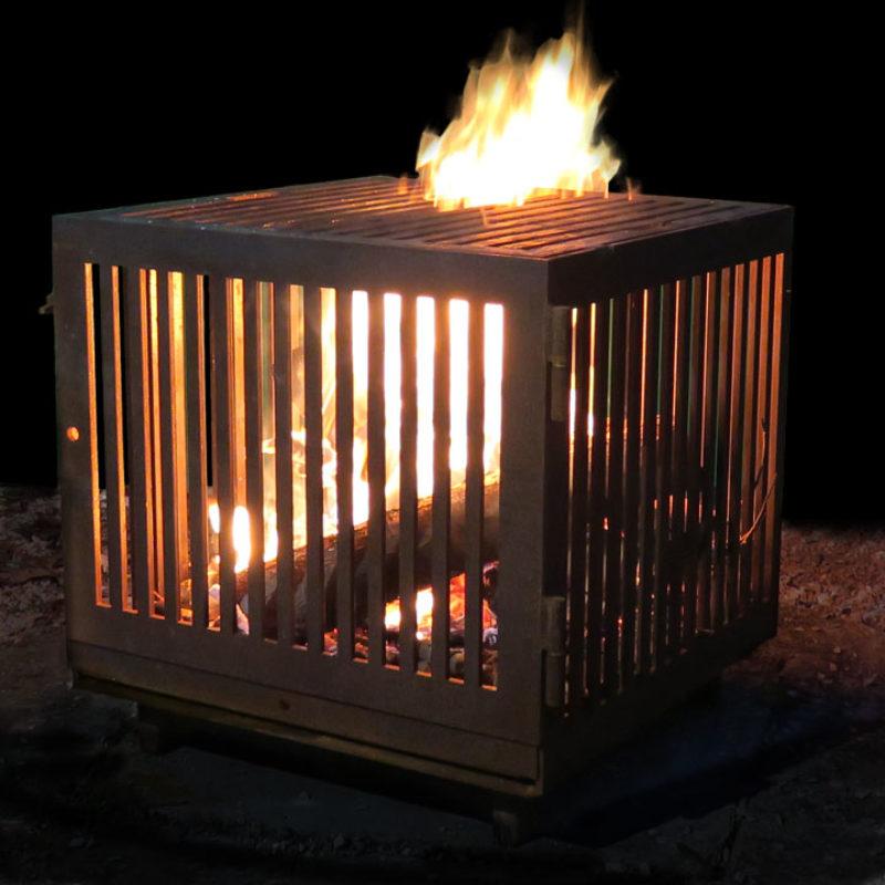 le dérivé feu de camp, brasero et barbecue