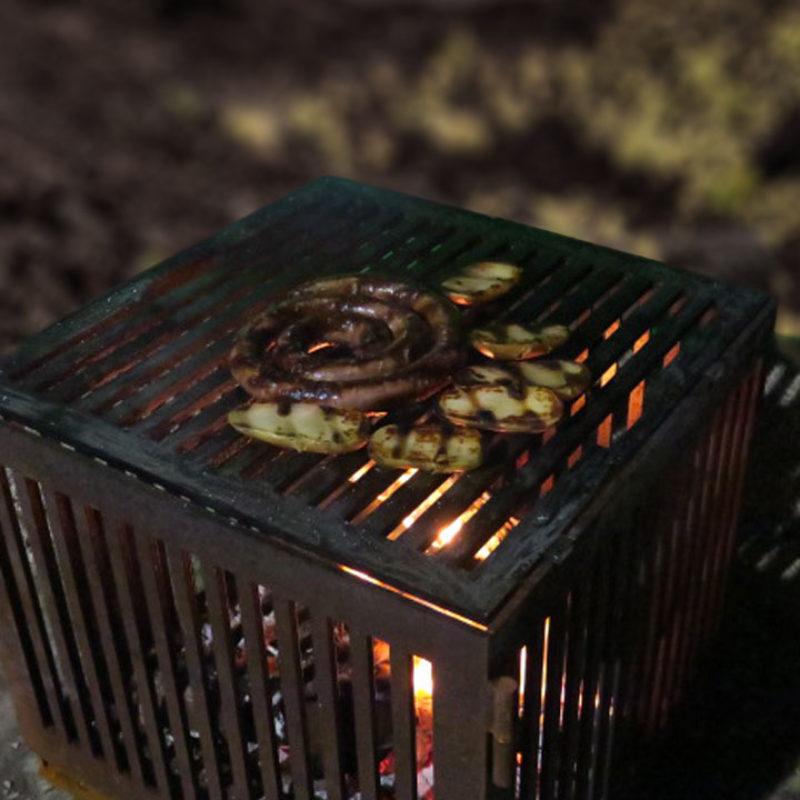 cuisson saucisses et merguez au barbecue avec les dérivés